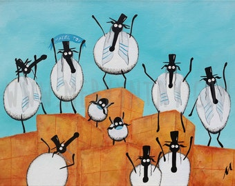 """Baa Mitzvah"" Original Painting"