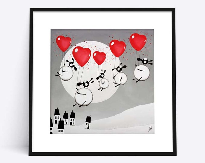 Love Is In The Air (Limited Edition Print)