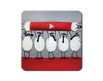 Ewe-Tube Coaster