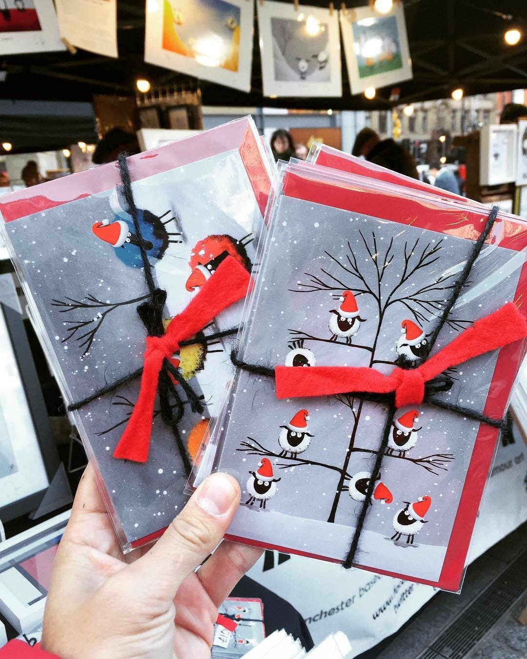 Artworks Christmas Cards.Merv Sheepish Christmas Cards Pack