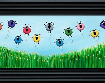 """Spring Has Sprung"" (Ready Framed) Original"