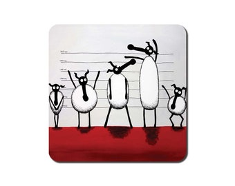 The Un-ewe-sual Suspects Coaster