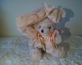 11' teddy bear, Jionted teddy bear, collectable teddy bear, Artist teddy bear