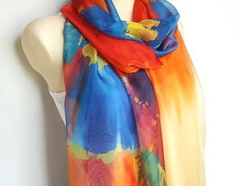 Silk and Satin Scarves