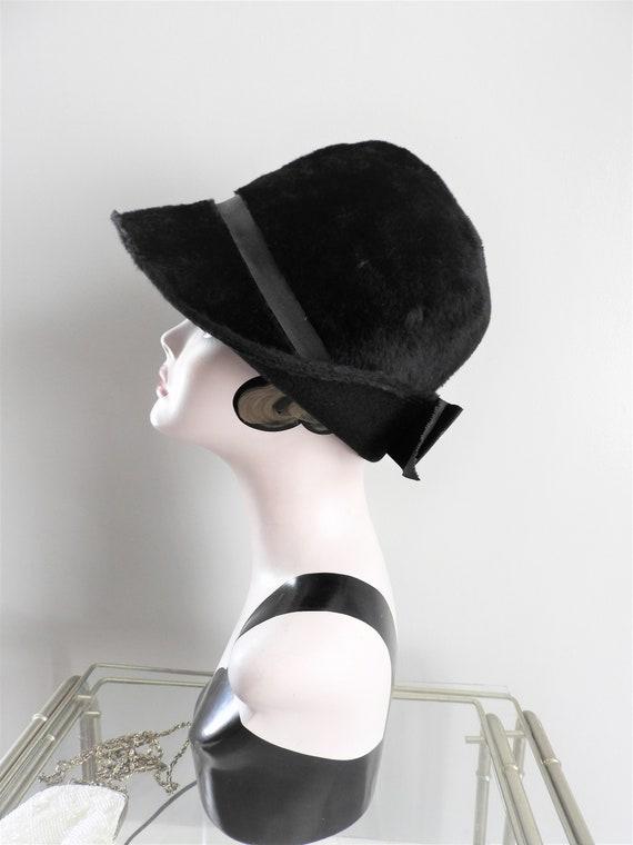 Vtg 1930's Cloche Hat, Flapper Era Hat, Vtg Depres