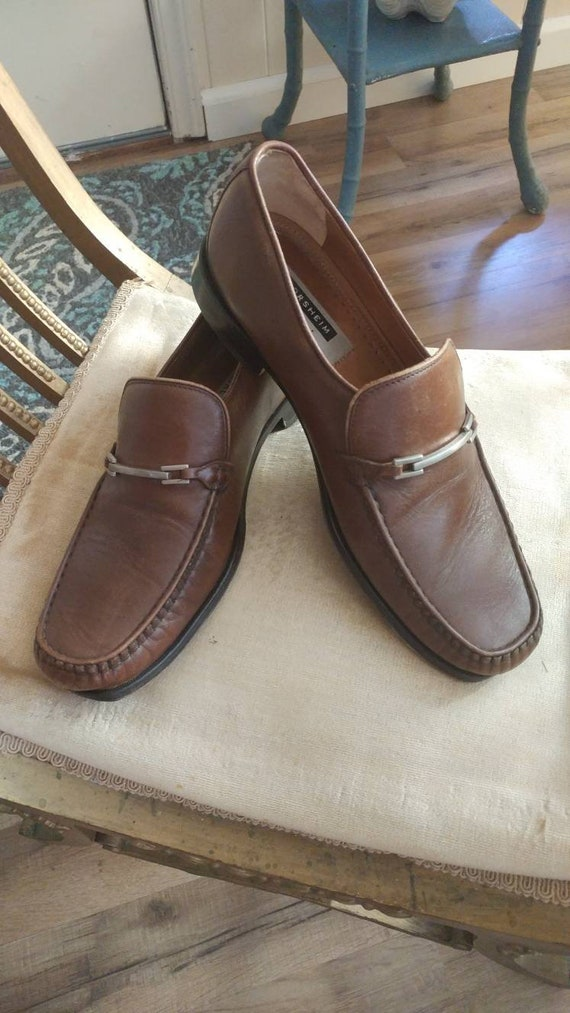 Vtg Mens Florsheim Loafers, Mens Brown Slip-On Sho