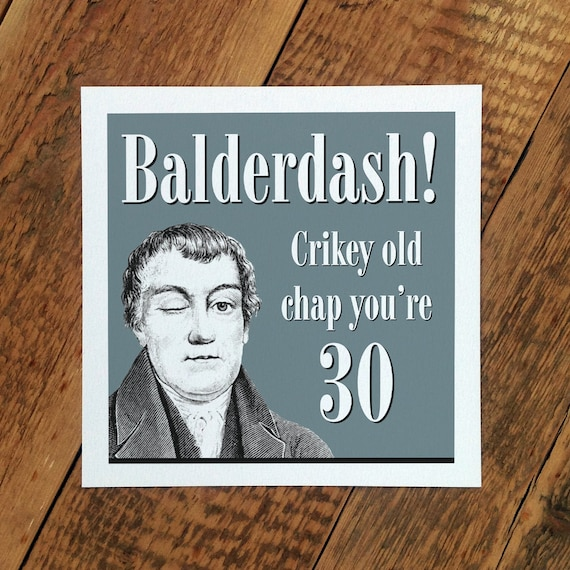 30th birthday card for men 30th card for husband 30th etsy