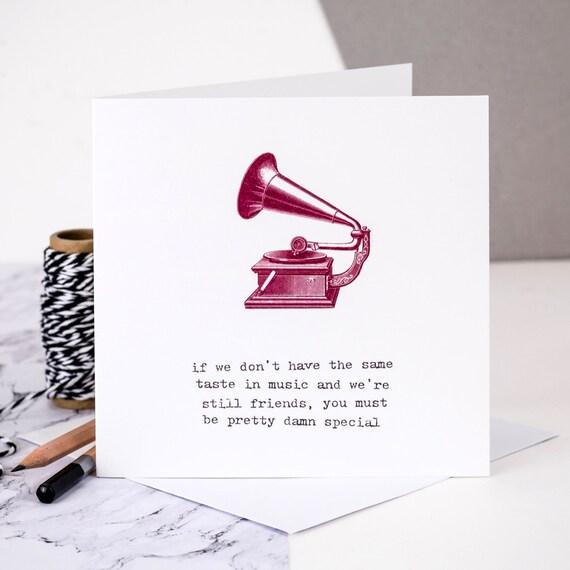 Birthday Card For Friend Friendship BFF