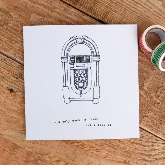 Birthday Card For Music Lovers Dad