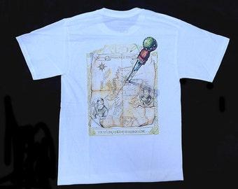 Map of Alba tshirt