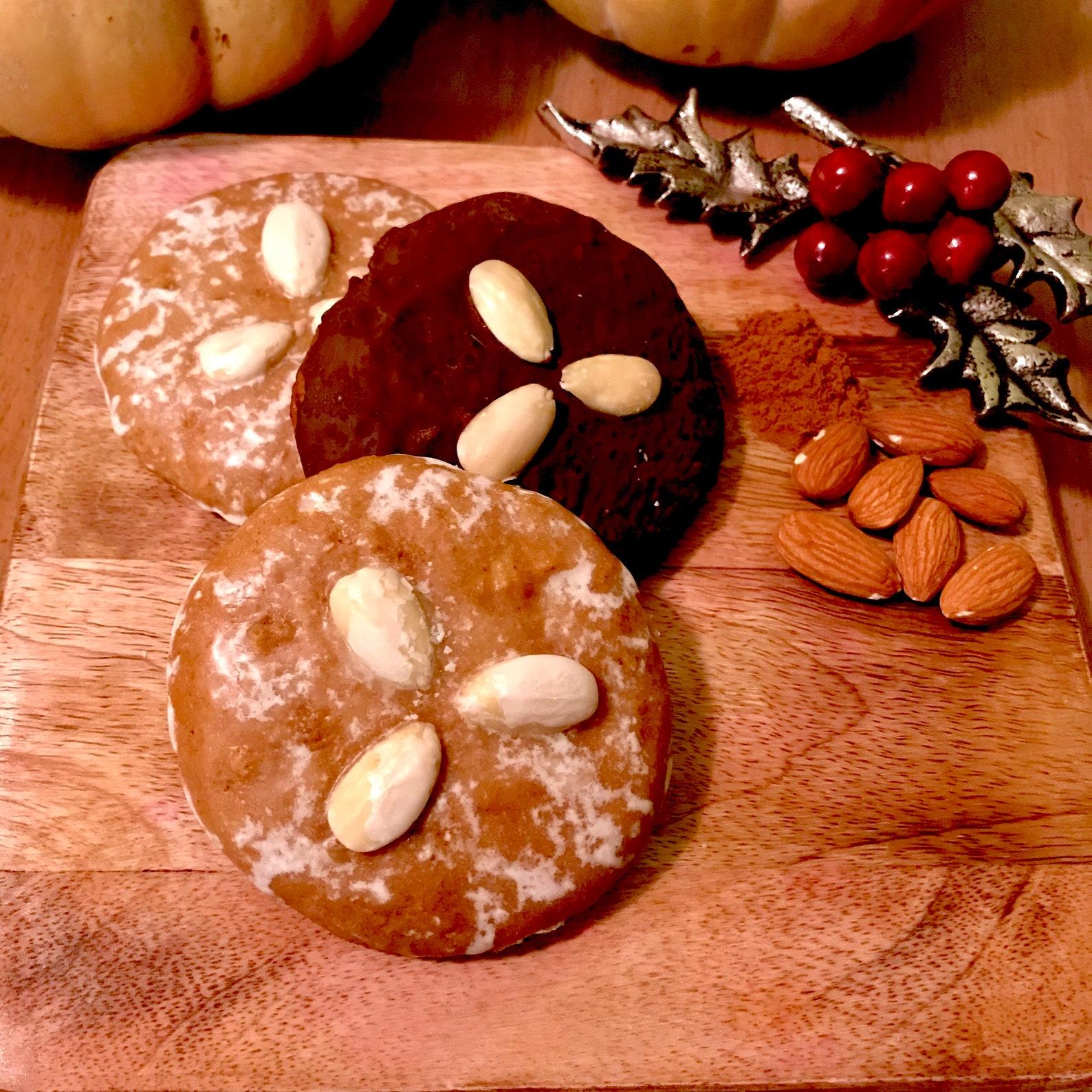 Chocolate Lebkuchen, Nuremberg Elisenlebkuchen