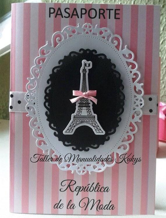 Invitaciones 15 Años París