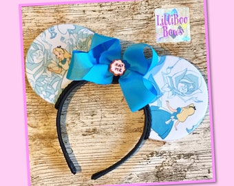 Alice in Wonderland inspired mouse ears | Free UK shipping