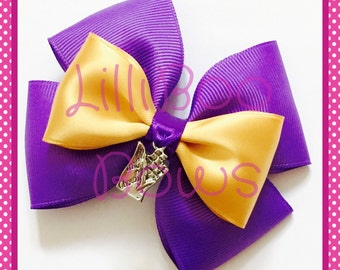 Willy Wonka Charlie and the Chocolate Factory Inspired Hair Bow / Bag Charm