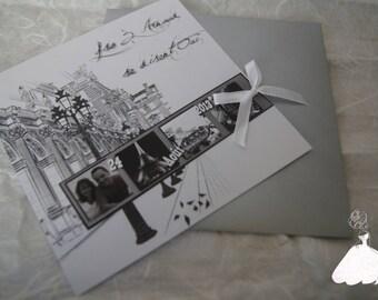 Share Paris Vintage black & white