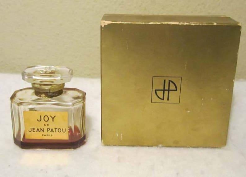 Vintage Jean Patou Joy Parfum Perfume Glass Bottle W Etsy