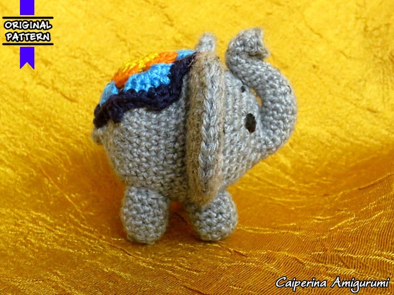 Bollywood Amigurumi Olifant Etsy
