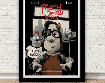Mary And Max Movie Etsy
