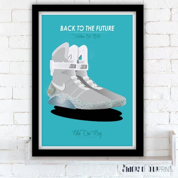 The Mag Affiche Le Etsy Air Ii Nike Vers Futur Retour Robert BnXwO
