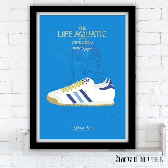 The Life Aquatic poster Adidas Rom
