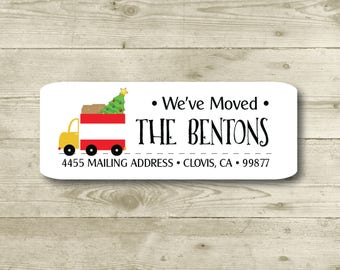 return address label etsy