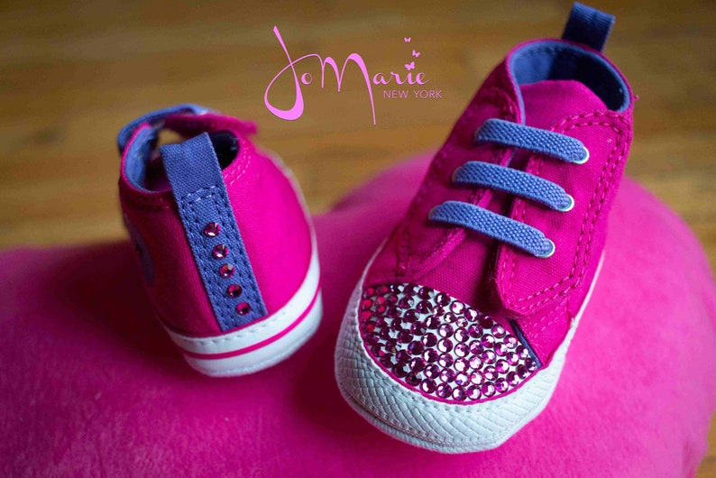 Slip Chuck Kids Easy Adorned Star Crystals Converse Taylor W Swarovski Sneakers All cTlK1JF