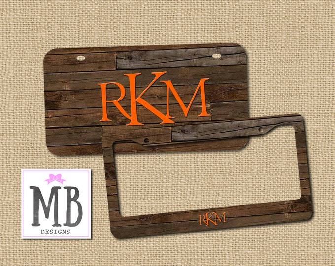 License Plates & Frames - MacyBlueDesigns