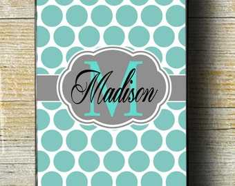 Teal iPhone 6 Case, blue case, iphone case, iphone 5 case, iphone 6 plus case, iphone 6 case, iphone monogram, custom iphone, iphone 4 case