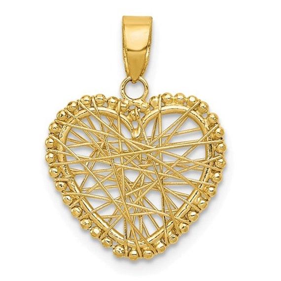 Sterling Silver Reversible 15mm Heart Locket Pendant Opens 15 mm 16.5 mm Locket Pendants /& Charms Jewelry
