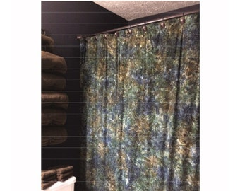 Pattern Easy Extra Long Shower Curtain Single Panel 72 W X 79 H
