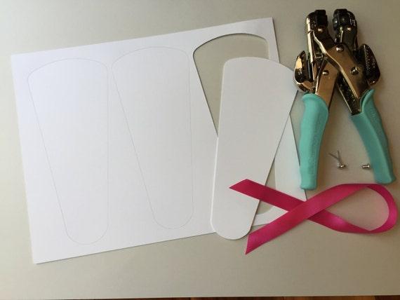 Wedding Program Fans Petal Fan Programs Fan Programs Diy Petal Fan Kit