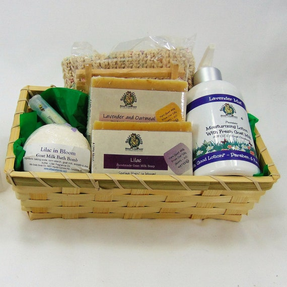 Goat Soap Gift Basket Delivery Unique