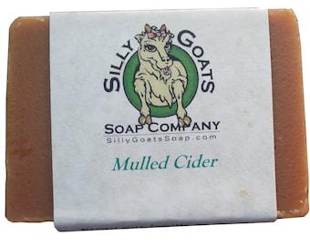 Mulled Apple Cider Goat Milk Soap, Apple Goat Milk Soap, Apple Cider Goat Milk Soap