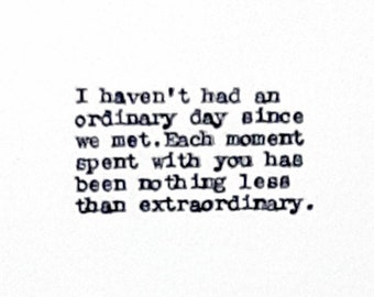 Items similar to Cute Love Quotes for Boyfriend or ...