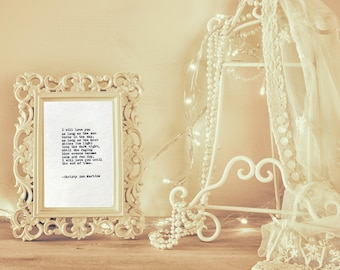 Cotton Anniversary Gift for Him or Her - Romantic Gifts for Boyfriend or Husband - Poetry