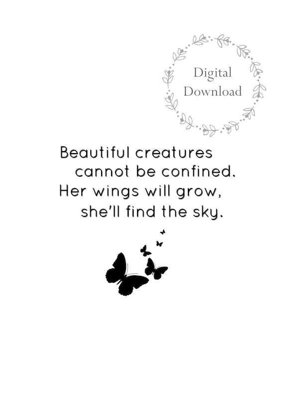 photo about Printable Inspirational Sayings referred to as Lovable PRINTABLE Inspirational Quotations by means of Christy Ann Martine Downloadable Quotation Print
