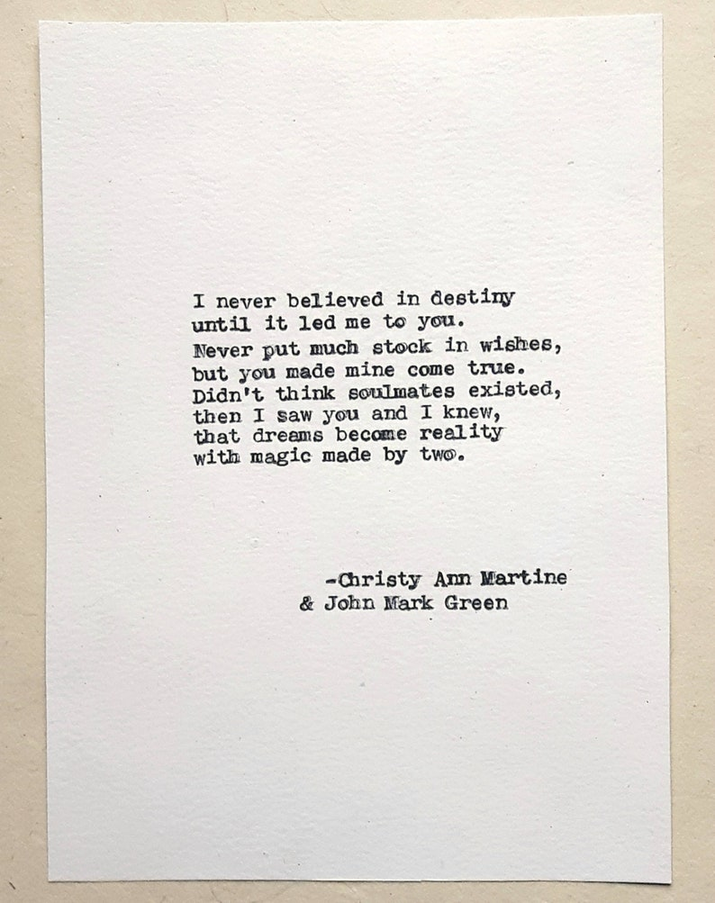 I have found my soulmate poem | My Soulmate by John P. Read