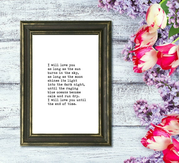 Cotton Gifts for Men or Women - Anniversary Gifts for Him or Her - Vintage Home Decor - Cotton Letterpress Print