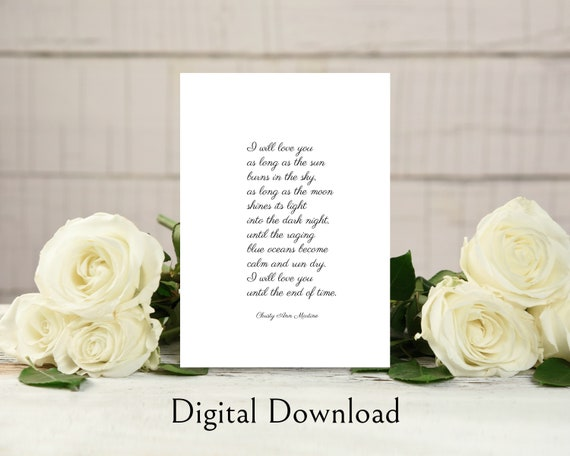 graphic regarding Poem the Dash Printable identify Printable Property Decor Delight in Poem Obtain - Enjoy Poetry Electronic 5x7 Inches