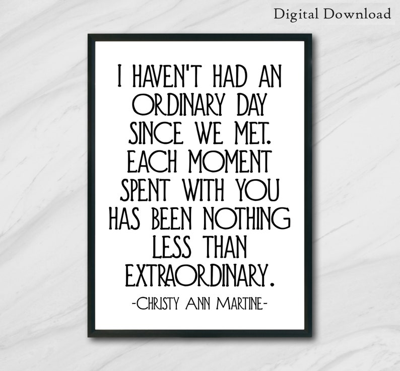 Printable Cute Love Quotes Printable Wall Art Gifts For Etsy