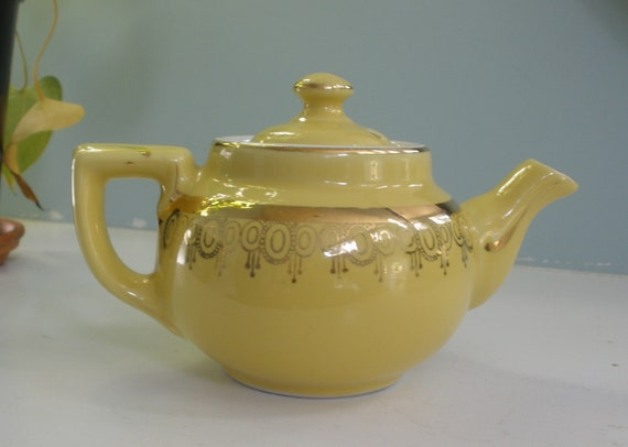 Rare hall teapots