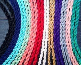 Ropes -- Cords -- Yarn Ropes -- Drawstrings -- Ties -- Decorative Rope -- Roping -- Cording