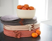 Altuzarra x Etsy, Single Placemat in Natural, Terracotta or Washed Black