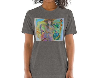 """Tori Roze and The Hot Mess """"Baggage Claim"""" Unisex Short sleeve t-shirt"""