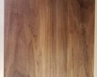 Walnut baking board