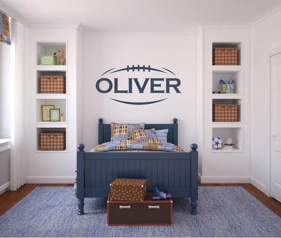 Football Name - Sports Boys Bedroom Nursery
