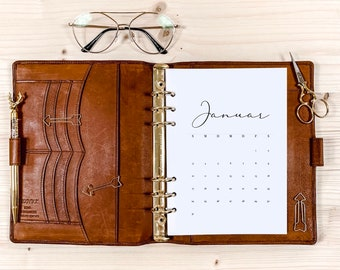 1 month per page・Calendar inserts ・ A5 ・ 120g • 2022