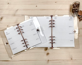 Ringbook • Calendar • Extra Large Rings • Rose Gold • A5 • Personal • Najero •