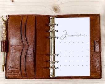 1 month on 1 page・ Personal Filofax ・ 120g • 2022