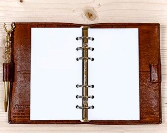 50 x Blank paper - Personal Filofax - 120g • 2021